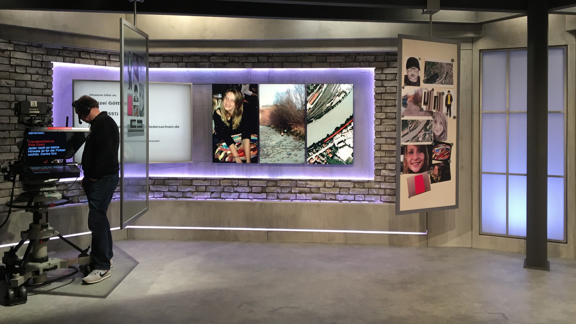 Rtl ii spiegel tv studio set f r ungekl rte f lle for Spiegel tv live stream rtl